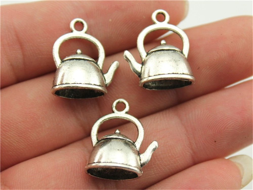 retro style Mother and baby rabbit  alloy charms pendants 22*17mm