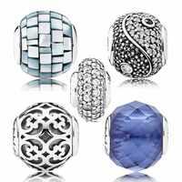 Balance Spiritualität Mit Mutter von perle Kristall Perle Fit Pandora Essenz SAMMLUNG Armband 925 Sterling Silber Charme Schmuck