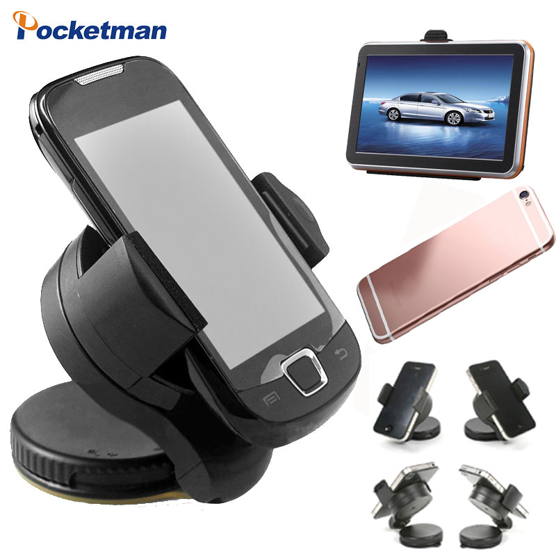 Universal Car Dashboard Windshield Mount cell mobile phone Holder Bracket stands for iPhone5 4S for samsung Smartphone GPS universal car windshield swivel mount holder for cell phone mp3 mp4 gps black