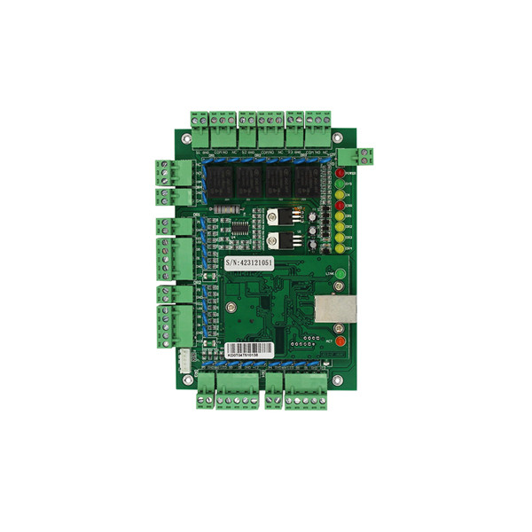 Door access control system TCP/IP door access control board four doors control panel with weigand card reader