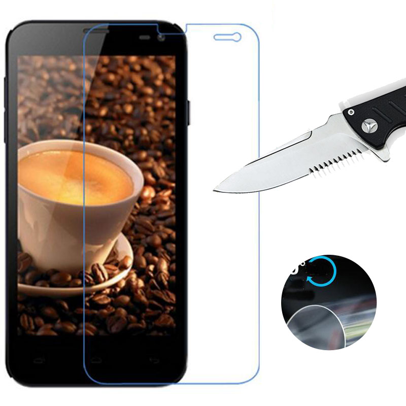 Nano Explosion-proof Soft Clear Screen Protector for Fly IQ4416 Era Life 5 New LCD Film (NOT Glass)
