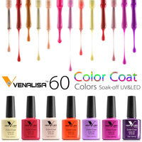 1pc Gel Polish Hottest Color Top Quality CANNI Factory Nail Art Wholesale Price Free Shipping VENALISA Enamel UV LED Gel Varnish