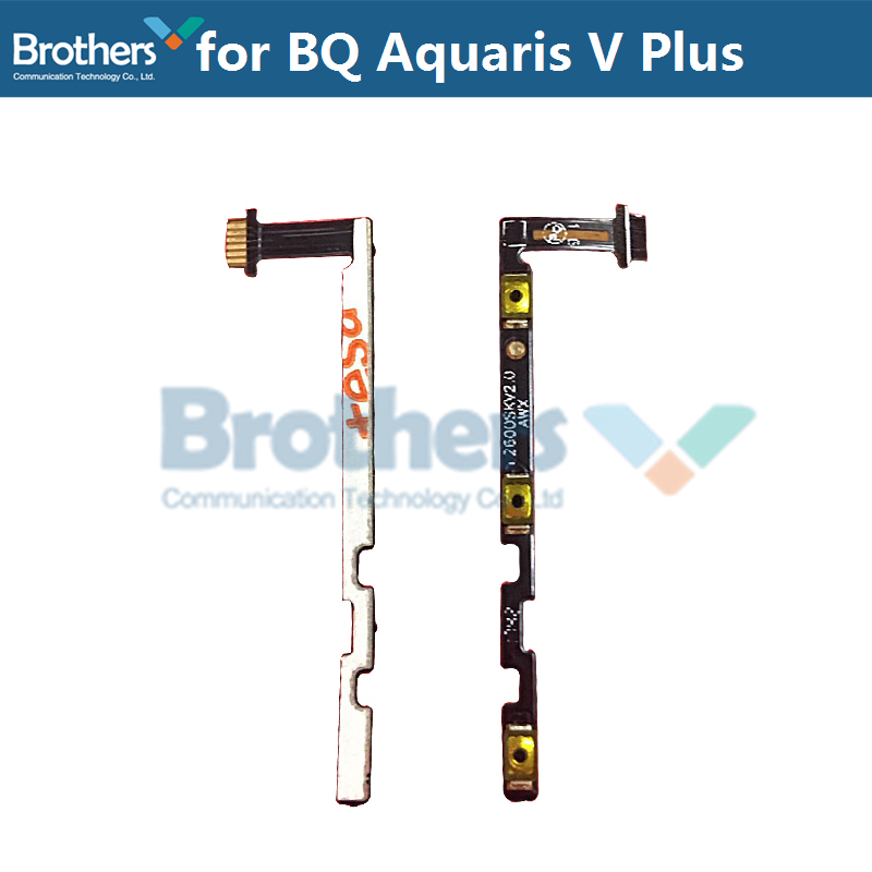 For BQ Aquaris V Plus Power Flex Cable Volume Buttons Flex Cable For BQ Aquaris V Plus Power On Off Flex Cable Phone Replacement