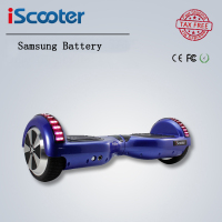 IScooter Bluetooth Hoverboard 2 Wheel Self Balance Electric Scooter Standing Smart Two Wheel Skateboard Samsung Battery