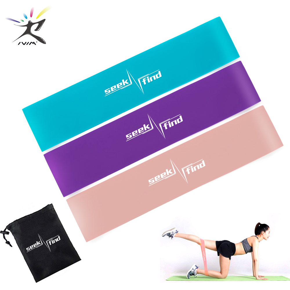 Yoga Resistance Loop Bands Elastic Fitness Gum Expander Bands Outdoor Home Exercise Training Workout Equipment Booties Bands(China)