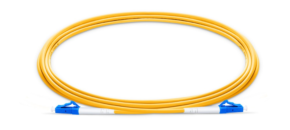 2m 50pcs LC UPC To LC UPC  Fiber Patch Cable G657A Jumper, Patch Cord Simplex 2.0mm PVC SM LC PC To LC PC