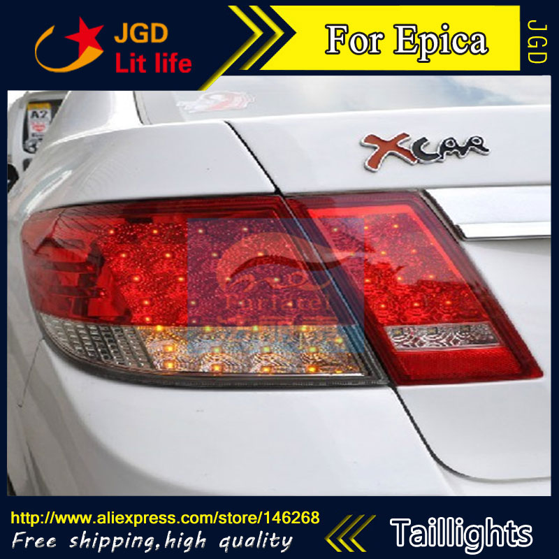 Car Styling tail lights for Chevrolet Epica taillights LED Tail Lamp rear trunk lamp cover drl+signal+brake+reverse