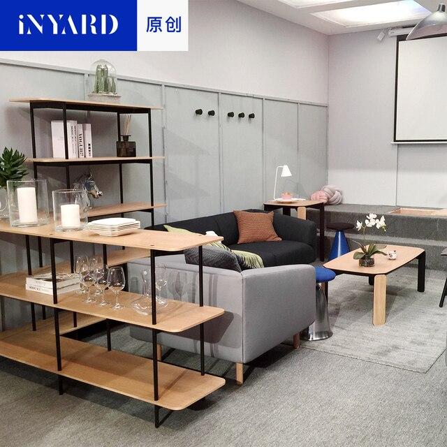 [InYard Original] Schlafzimmer Wohnzimmer Regal, Einfache Kombination Buch,  Regal Benutzerdefinierte, Sammlung