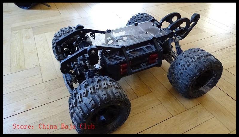 rc autós keret op alkatrészek, görgős kocsi RC tartozékok Védőfedél Importált nylon gyártás Thunder Tiger MT4 G3 számára