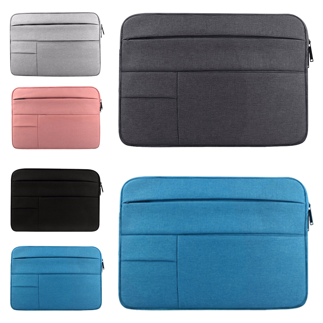 Image 3 - Laptop Sleeve bag for Dell Asus Lenovo HP Acer Computer 11 12 13 14 15 inch for Macbook Air Pro Notebook 15.6 Sleeve Case Simple-in Laptop Bags & Cases from Computer & Office