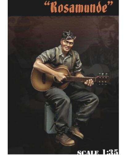 <font><b>1</b></font>/<font><b>35</b></font> <font><b>Vietnam</b></font> <font><b>War</b></font> summer soldier with Guitar toy <font><b>Resin</b></font> Model Miniature <font><b>resin</b></font> <font><b>figure</b></font> Unassembly Unpainted image