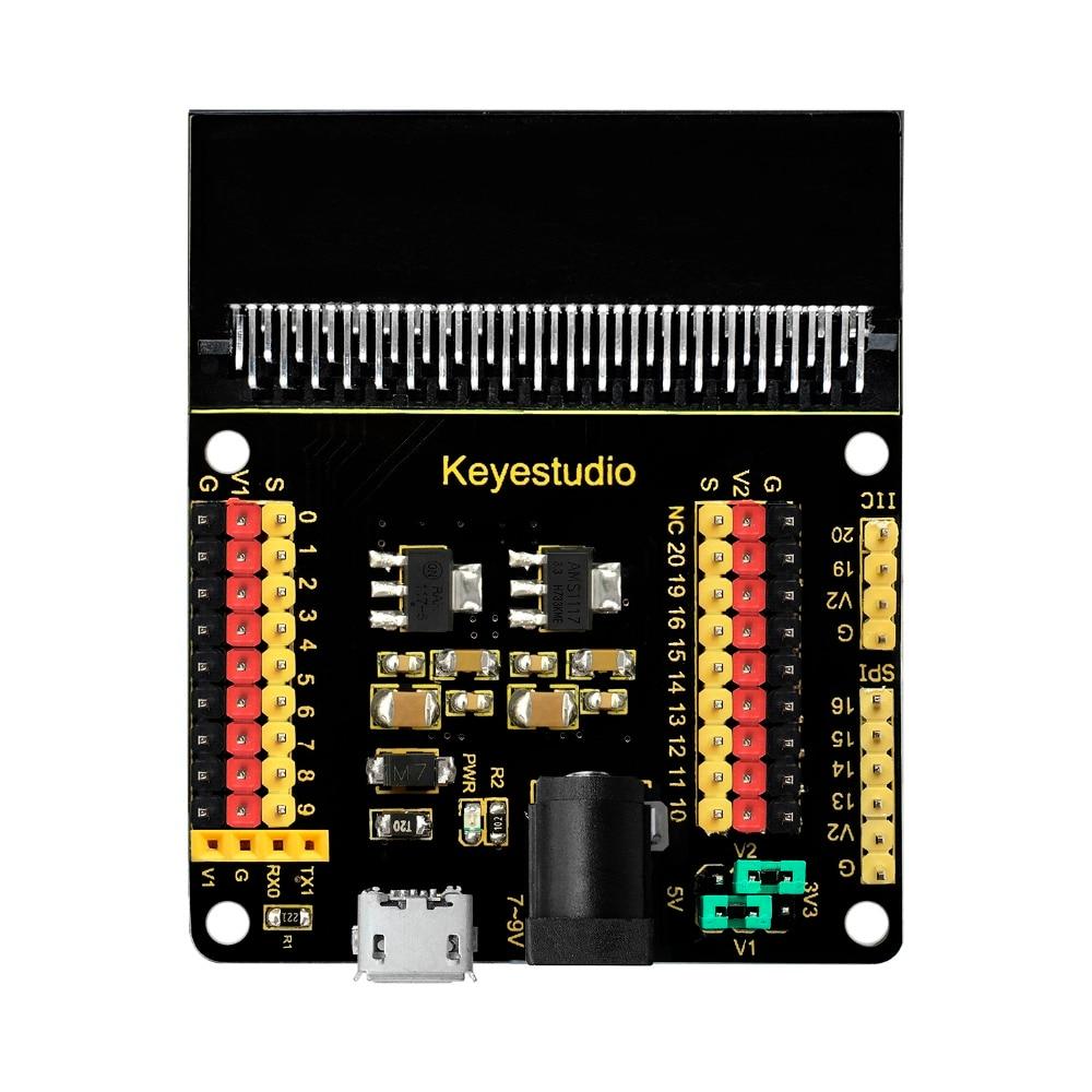 Keyestudio Sensor Shield Module V2 for BBC Micro:BitKeyestudio Sensor Shield Module V2 for BBC Micro:Bit