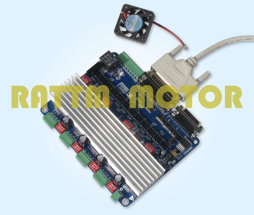 4 axis cnc controller tb6560 stepper motor driver board h for Cnc stepper motor controller