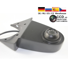 CCD Car Reverse Rear View Backup Camera For VW Crafter Mercedes Benz Sprinter Vehicle Brake Light Backup Parking Reverse Camera стоимость