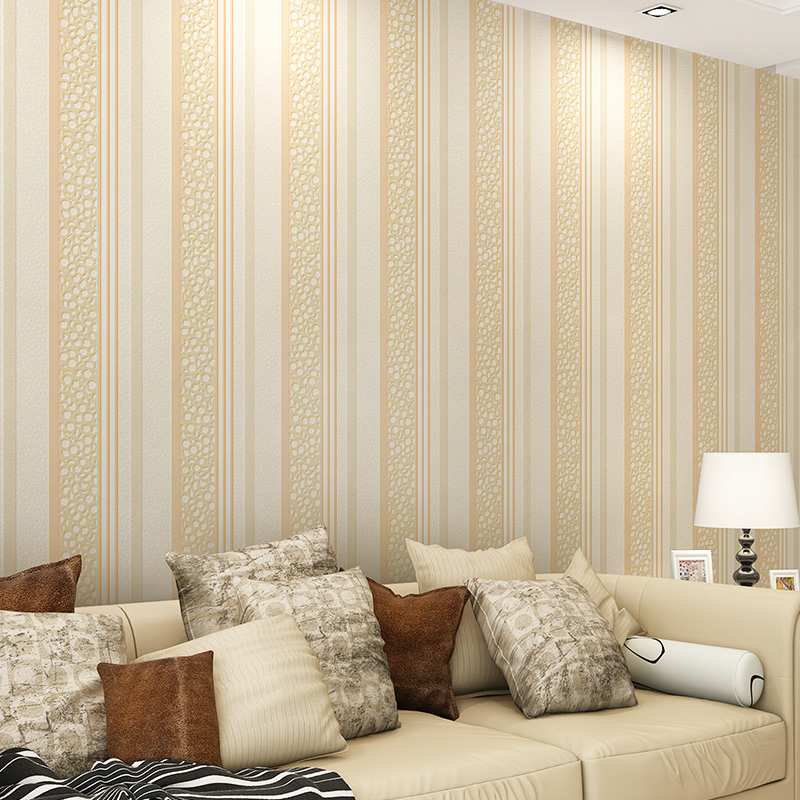 simple modern vertical stripes embossed 3d wallpaper designs fashion background living room wall papre roll home wall covering