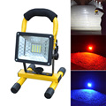Hot Sale Waterproof IP65 30W 24 LED Flood Light Portable Outdoor  Emergency Lamp Work Light