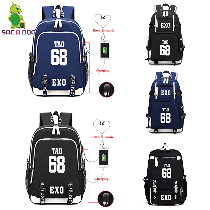 Luggage & Bags Exo Mochila Usb Charge Mochila Escolares Para Adolescentes Unisex Backpack Multifunction Bagpack Laptop Backpack Zaino Donna In Pain