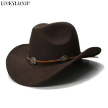 Luckylianji детская винтажная шерстяная фетровая шляпа в стиле