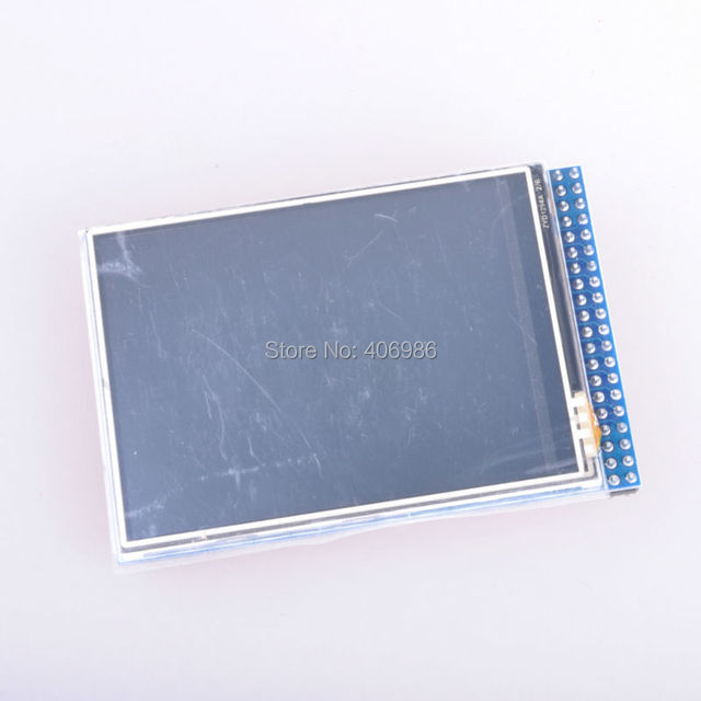 """2.8"""" TFT LCD Touch Screen 8 Bits 65K color 320 x 240 resolutions with SD Card Socket"""
