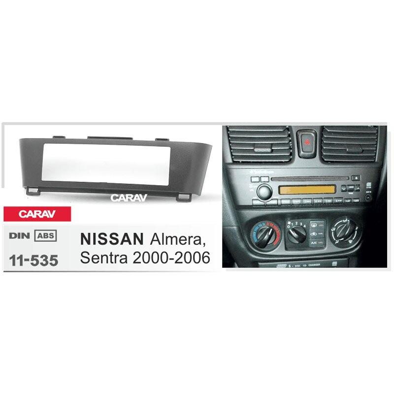 CARAV 11-039 2DIN Car Radio Dash Kit panel for TOYOTA Universal side brackets