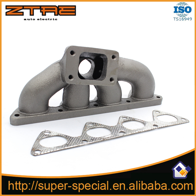 Cast Iron Turbo Manifold For Acura Integra BBB - 1990 acura integra muffler