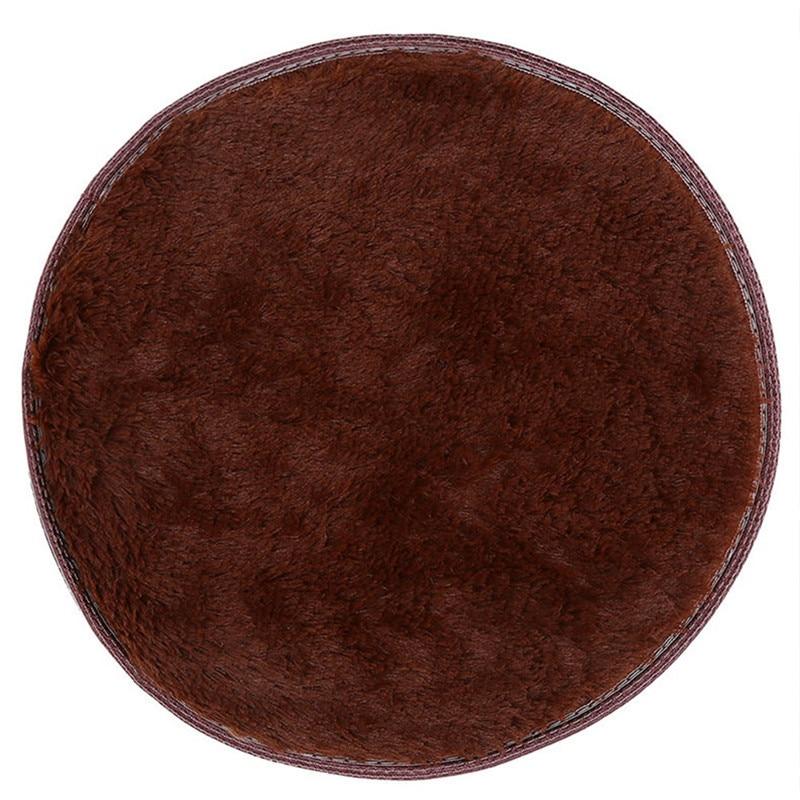 Nk Decoration Anti Slip 80cm 100cm Round Floor Mat Circle