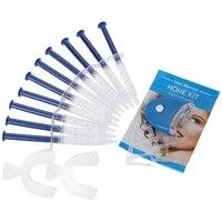 Equipo Dental Para Blanquear Los Dientes 44% Sistema de Blanqueo Con Peróxido Kit Gel Blanqueador de Dientes Oral Baja Sensibilidad