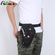 Portable Tool Bag Impact Driver Drill Holster Top Quality Canvas Tool Bag Electrician Waist Pocket Garden Tool Belt Pouch Bag