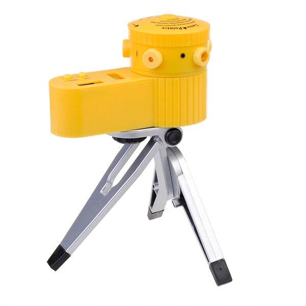 Mini Kunststoff Multifunktions Kreuz Linie LED Laser Ebene Vertikale Horizontale Leveler Tool mit Stativ Mess Werkzeuge