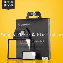 GGS III Профессиональный Стекло ЖК-Экран Протектор для Nikon D7100 D7200 DSLR Камеры