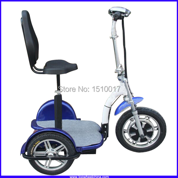 2015 new best quality tp012d 3 wheel scooter electric for Electric scooter brushless motor