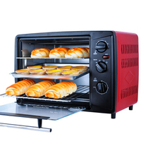30L Home Electric Oven Bread Cake Multifunction Big Ovens Up Down Independent Tube Control Dimensional Heating Baking Machine