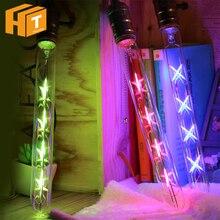 8W T300 LED Tubular Filament Bulb E27 Base 220V Long Retro Led Light Bulb Colorful Edison Light For Pendant Lamp Decoration
