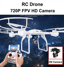 2016 New MJX X101 6CH FPV Profession RC Quadcopter Drone with WiFi HD Camera, RC Helicopter Can add Gopro Camera, VS X8G