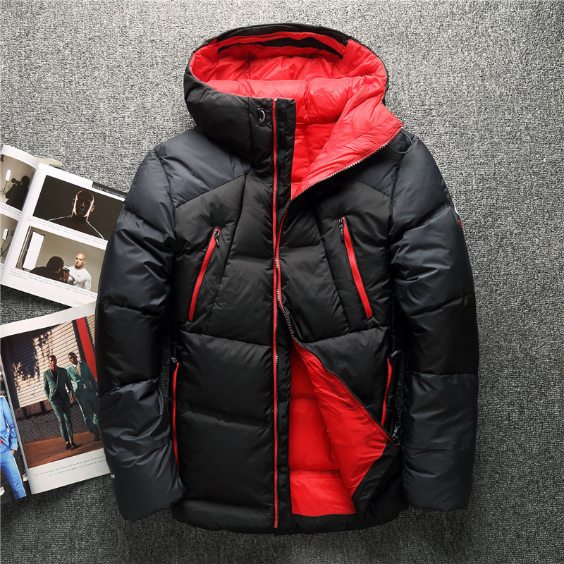 High Quality 90% White Duck Thick   Down   Jackets Brand Snow parkas male Warm Brand Clothing winter   Down     Coats   Man's Outerwear