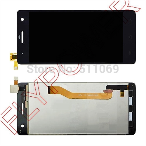 For Wiko Highway LCD Scren Display with Touch Screen Digitizer Assembly by free shipping; Black; HQ; 100% warranty; 100% new original lcd for wiko ridge 4g lcd display with touch screen digitizer pantalla assembly replacement 5 inch black color
