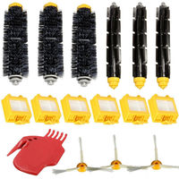 16pcs Set Filters Pack Bristle Brush Flexible Beater Brush 3 Armed Side Brush Kit For IRobot