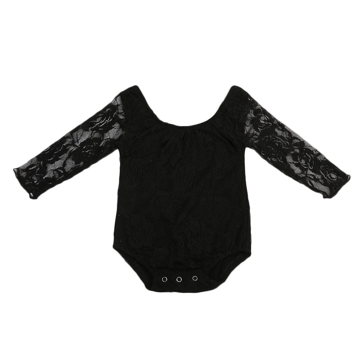New Style Newborn Infant Toddler Baby Girl Clothes Lace Long Sleeve Romper Floral Kids Baby Clothing