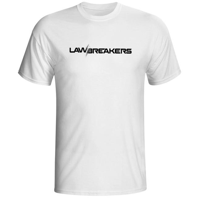 Cool T Shirt Print Designs | Law Breaker T Shirt Video Game Print Design Cool T Shirt Casual