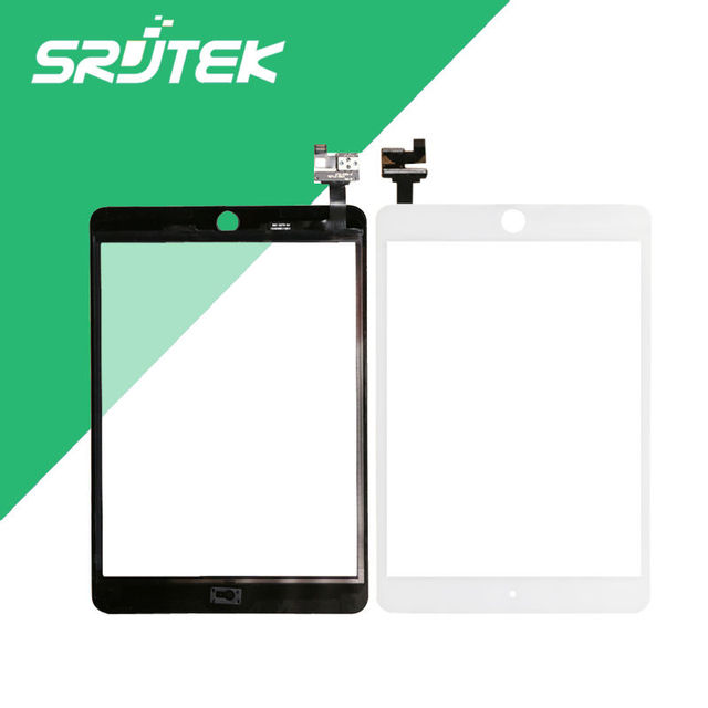 Для iPad mini 3 Испытано сенсорный экран стекла digitizer черный замена сенсорного экрана в наличии бесплатная доставка