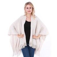 Woman Pullovers Autumn Winter 2018 New Trend Silver Silk Tassel Shawl Ladies Style Cardigan Fashion Wild Warm Cardigan Sweater