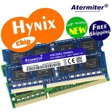 Hynix чип 2 ГБ/4 ГБ/8 ГБ 1 Гб 4G 2G PC2 PC3 DDR2 DDR3 667 МГц 800 1333 Гц 1600 МГц 5300 6400s 8500 10600 памяти ноутбука ноутбук Оперативная память