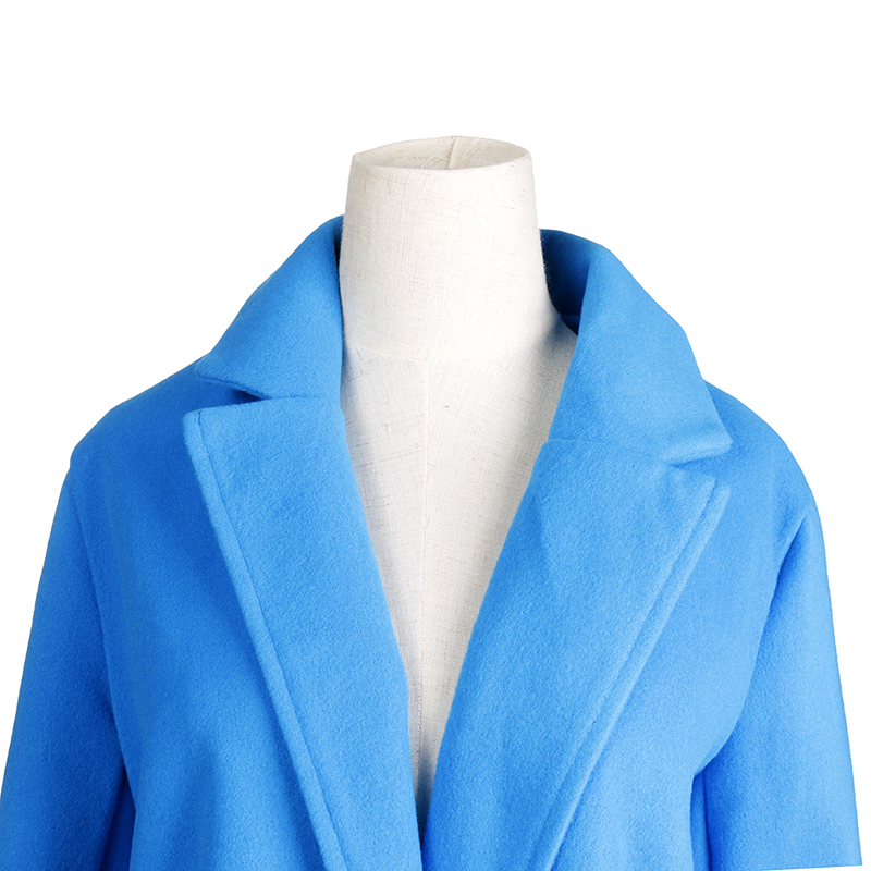 HTB1mQbBatjvK1RjSspiq6AEqXXa6 2018 New Women Long Sleeve Turn-Down Collar Outwear Jacket Wool Blend Coat Casual Autumn Winter Elegant Overcoat Loose Plus Size