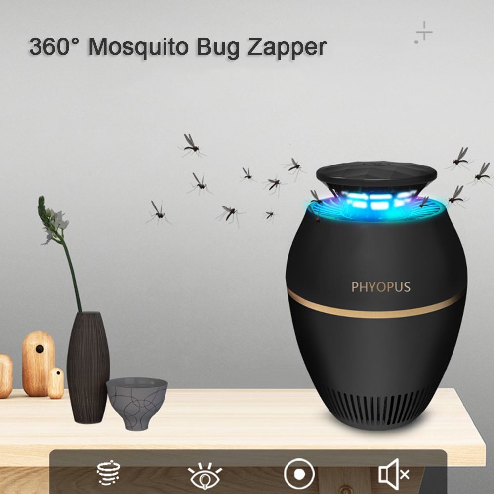 Electronic Mosquito killer USB electric mosquito killer Lamp Photocatalysis mute home LED bug zapper insect trap Radiationless in Repellents from Home Garden