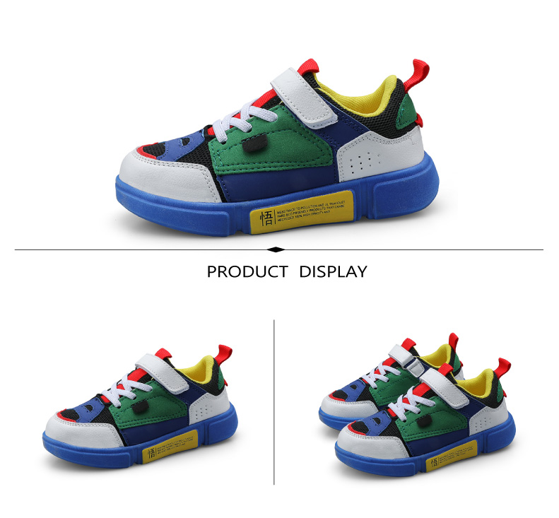 2019 Autumn New Girls Sneaker Kids Shoes Fashion Breathable Pink Leisure Sports Running Shoes For Boys Brand Casual Children Shoes (7)