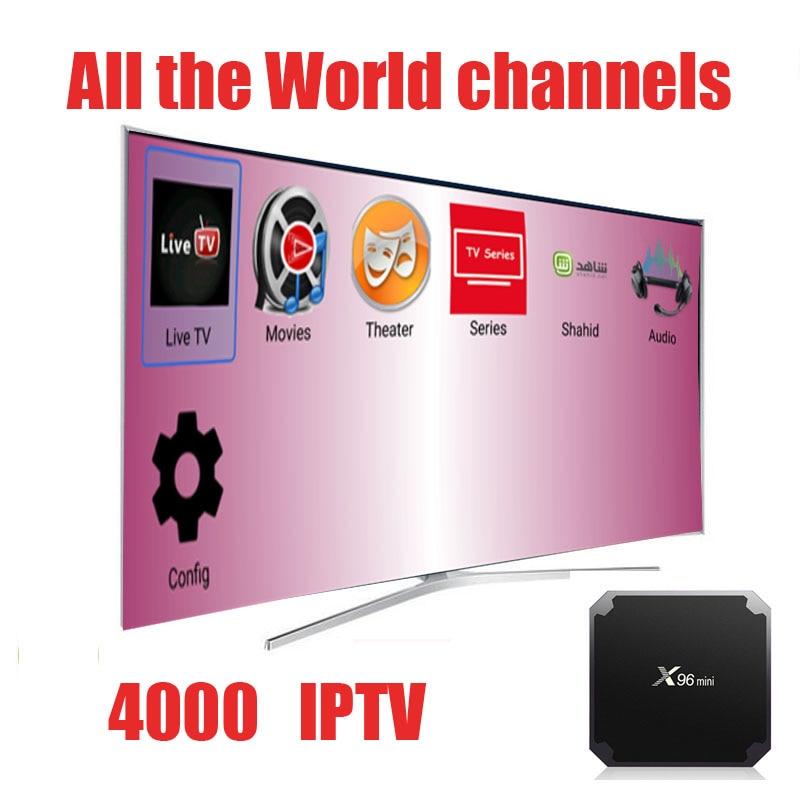 World IPTV subscription 4000 channels world IPTV brazil polish portugal Belgium united k ...