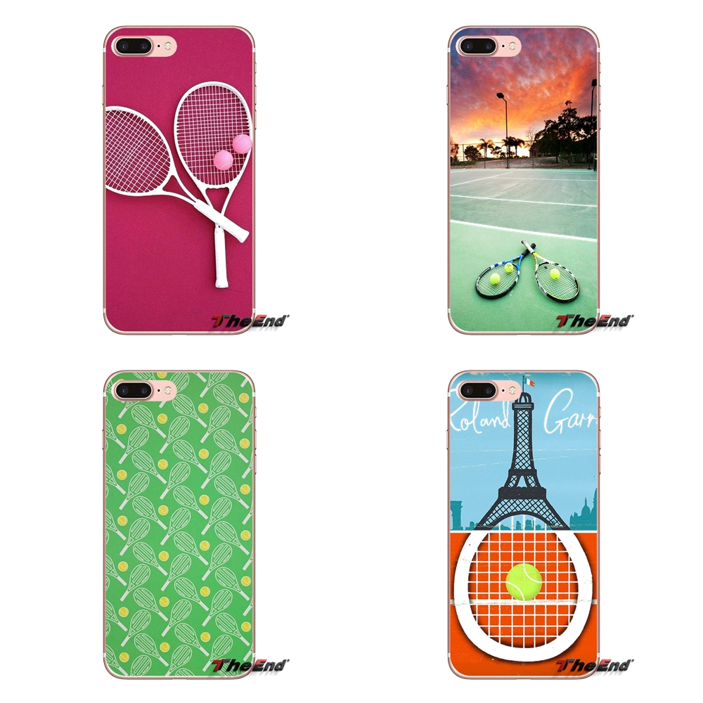 Sport Play Tennis Ball Print Slim Silicone Tpu Soft Phone Cover Case For Samsung Galaxy J3 J5 J7 A3 A5 A7 2015 2016 2017 Phone Bags & Cases