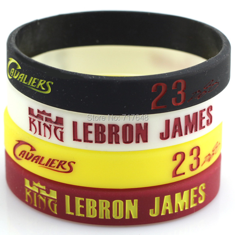 100pcs Lebron James Wristband Silicone Bracelets Rubber Cuff Bangle Free Shipping In From Jewelry Accessories On Aliexpress Alibaba