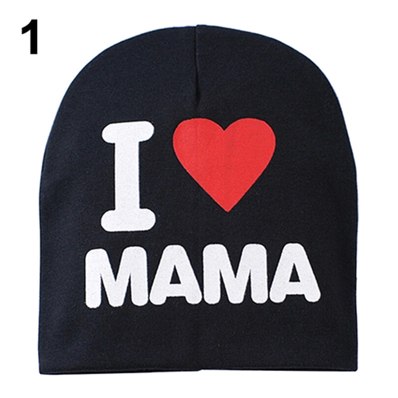Top Quality Baby Kid Boy Girl Love Heart Soft Warm Hat Knitted Caps Cotton Beanie For Children