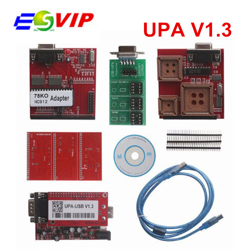 Upa usb Programmer New Main Unit with upa usb Adapter ECU Chip Tuning upa programador upa